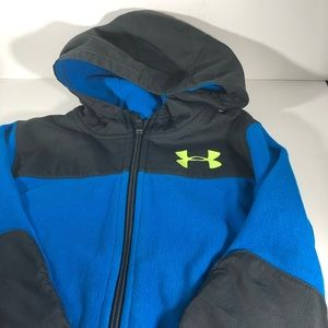 Little boys size 5 Under Armour fleece jacket